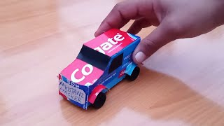 How to Make Jeep Car From Colgate Box - Easy DIY