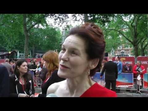 Chariots of Fire Premiere 2012 - Alice Krige Interview