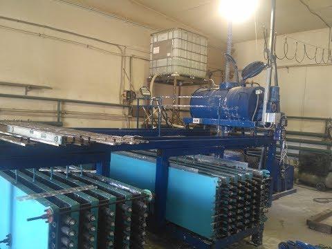Оборудование по производству межкомнатных панелей (пазогребневой плиты, пгп)