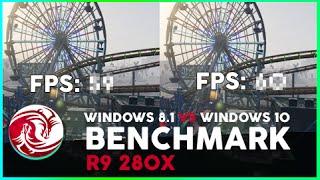 GTA V Windows 8.1 VS. Windows 10 FPS Test