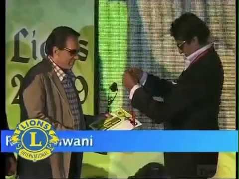 Lions Gold Awards - Amitabh Bachchan, Dharmendra, Late,Shri.Yash Chopra