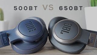 JBL LIVE 500BT vs. JBL LIVE 650BT - Review & Comparison