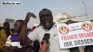 Mali : les temps forts de la grande manifestation pour le départ des forces étrangères