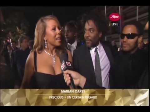 Mariah & Precious Cast on Cannes Red Carpet : Arrivals + Interview