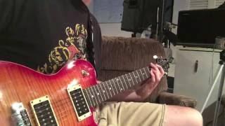 Promises in the Dark- Pat Benatar (Full Guitar Cover)
