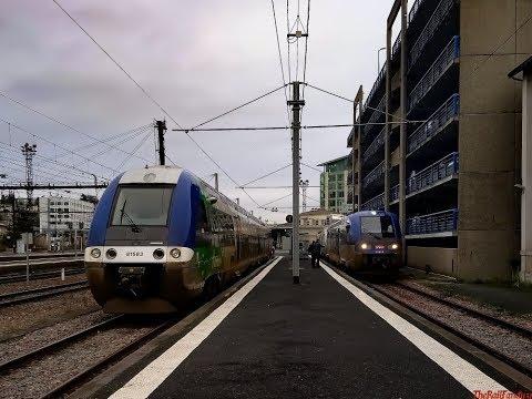 Les Trains Matinaux En Gare De Poitiers
