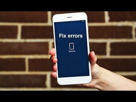 iphone restore problems error 2003, 2005, 2006 etc