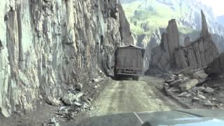 Driving through Zozila pass - Part II
