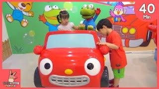 뽀로로 테마파크 키즈 카페 자동차 어린이 놀이 모음 ♡ 테마 파크 잠실점 Pororo Kid Indoor Playground Fun Play | 말이야와아이들 MariAndKids