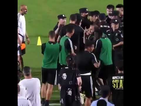 Download Christiano Ronaldo Jumps On Chinese Policeman