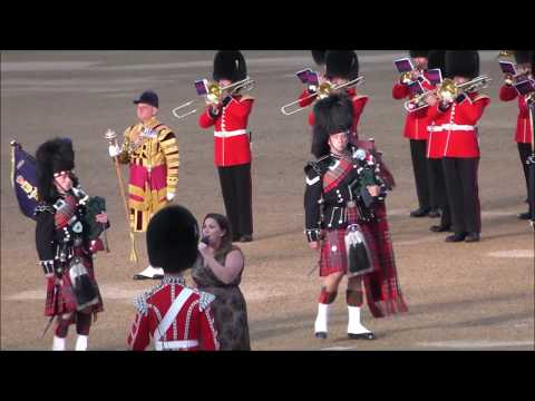 Household Division Beating Retreat 2018