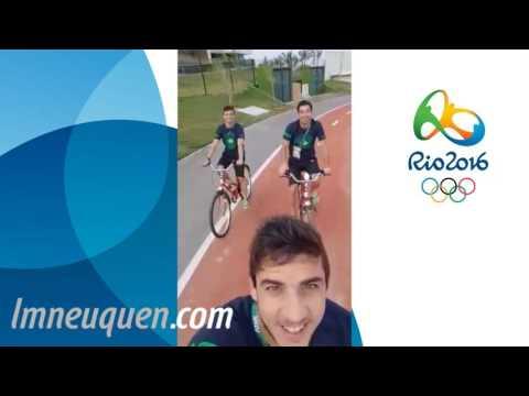 El Piojo López cumplió su sueño olímpico: Es una locura compartir un desayuno con Del Potro y el gimnasio con Bolt