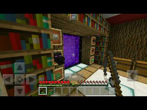 HOW TO MAKE A CONFIDENTIAL HOUSEHOLD IN FLAVORED FLAVORS DO YOU NEED FISH COOKING INMinecraft PE 1 2