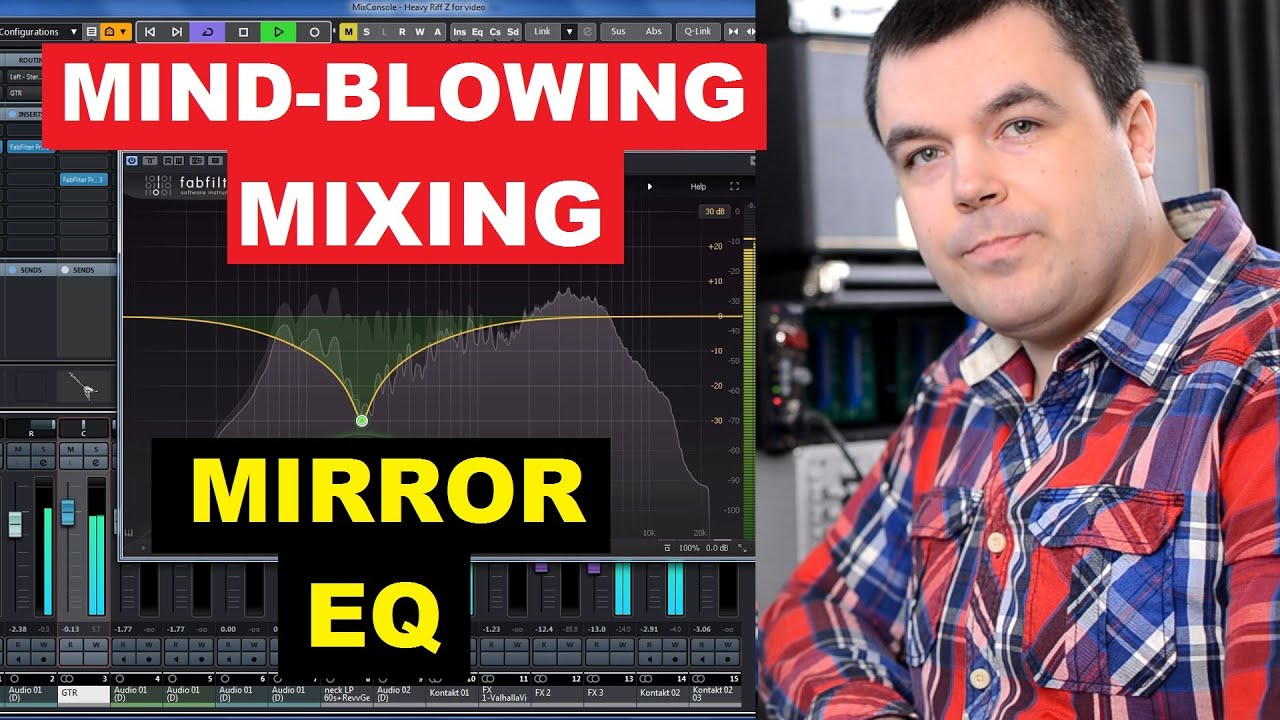 Mind-Blowing Mixing with EQ - Mirror Frequency Effect