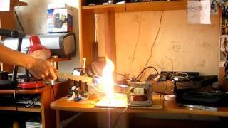 дуги с графитовых электродов(, 2011-06-13T04:50:02.000Z)