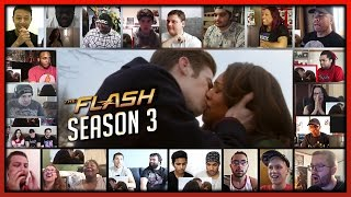 THE FLASH Season 3 Comic-Con Trailer Reaction's Mashup