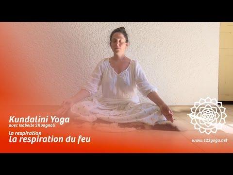 Kundalini Yoga : la respiration / 2 : la respiration du feu