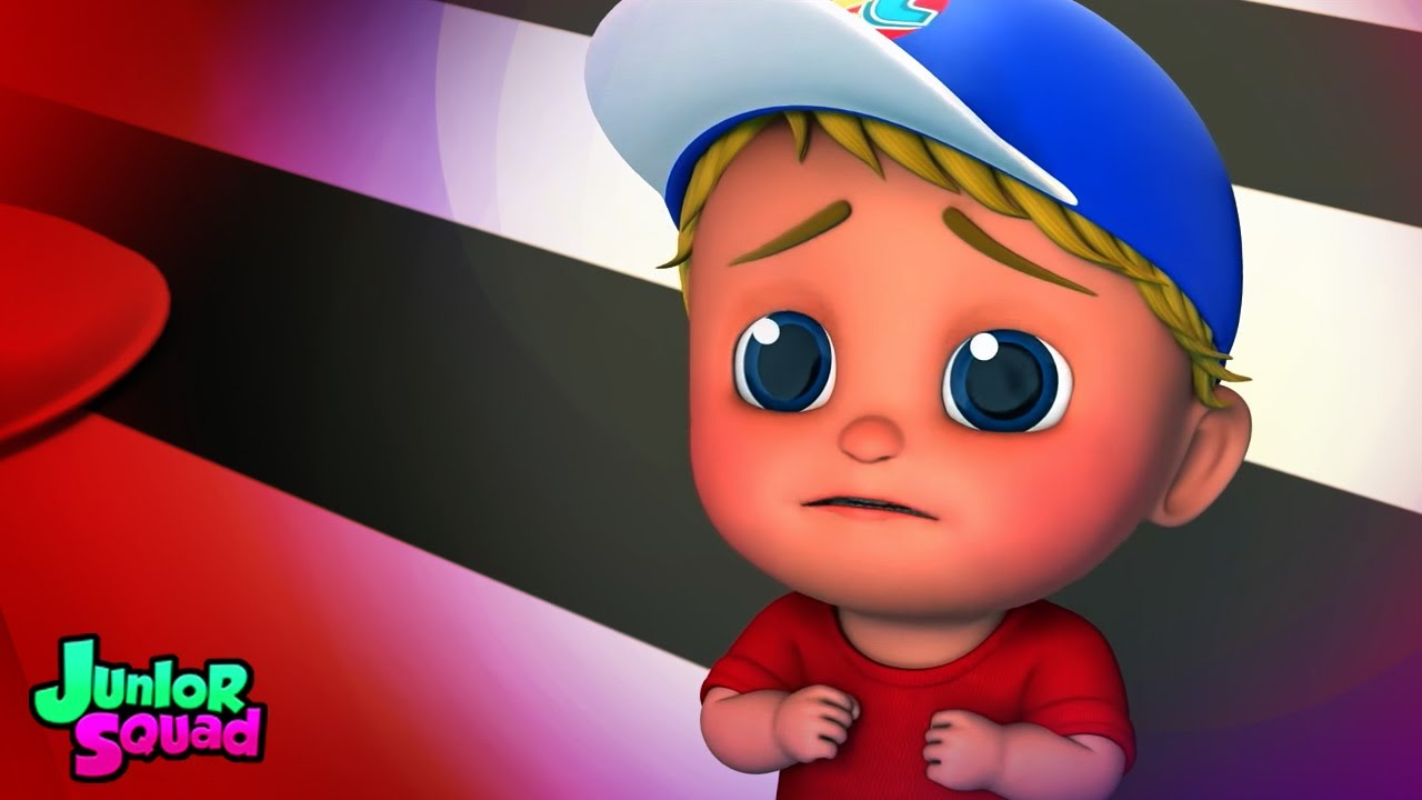 Karanlıktan korkmuş | Çocuklar için şiirler | Junior Squad Türkçe | Animasyonlu videolar