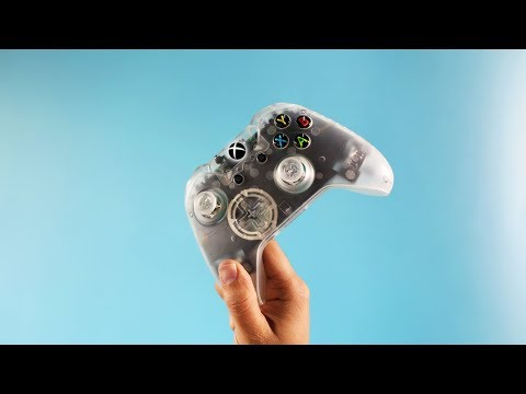 DIY Clear Xbox One Controller!