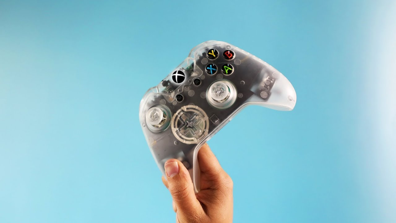 I made a Clear Xbox One Controller