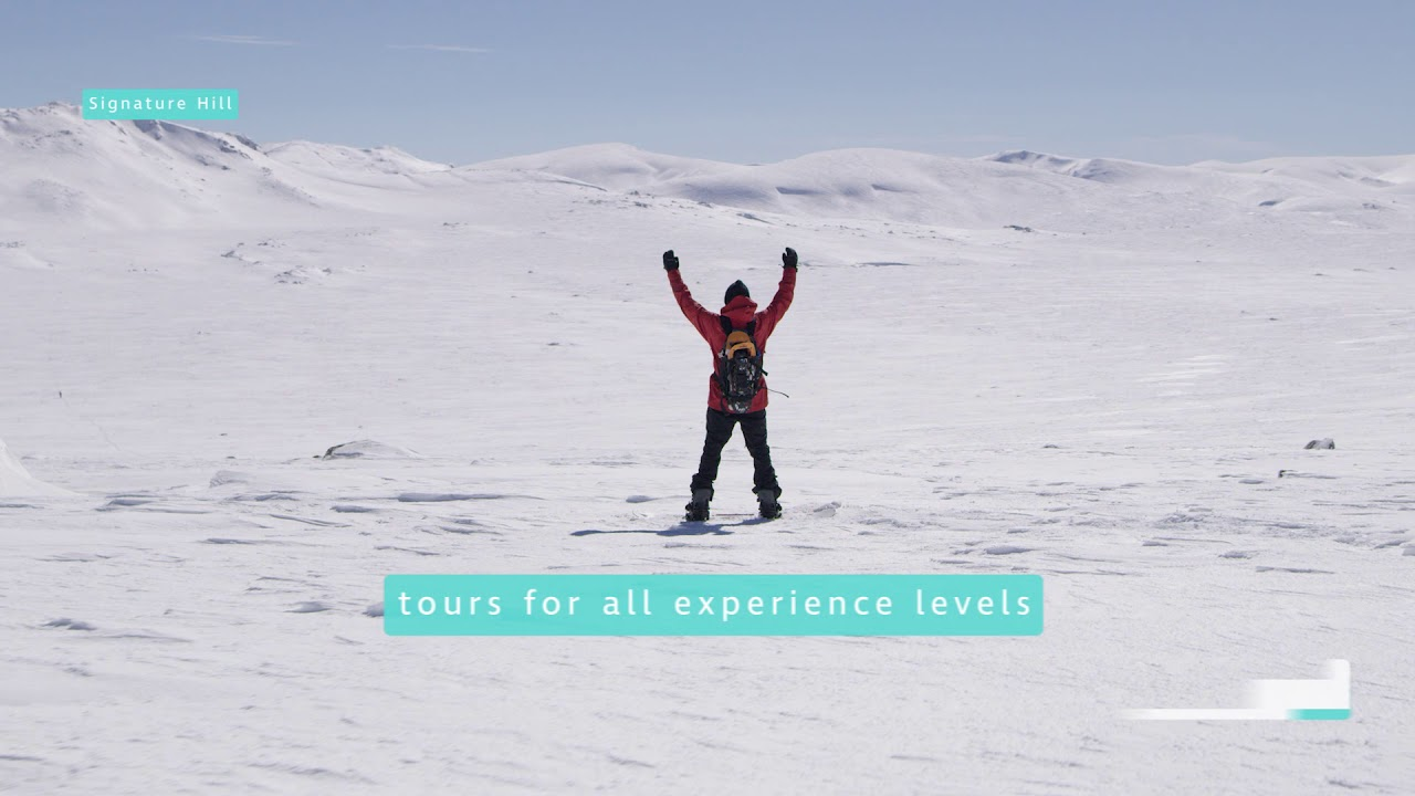 Thredbo Backcountry Tours Supported by The North Face