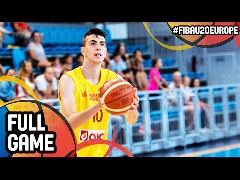Malta v MKD - Full Game - FIBA U20 European Championship 2017 - DIV B