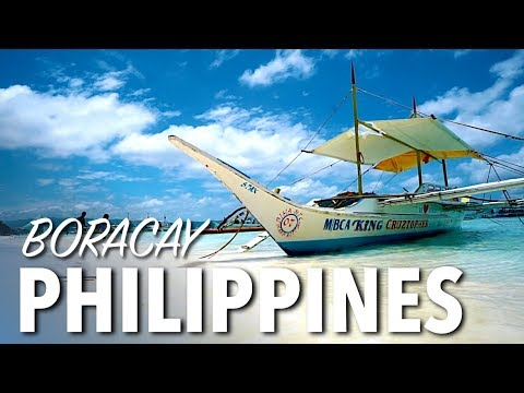 FAMOUS WHITE SAND BEACH - Boracay Philippines