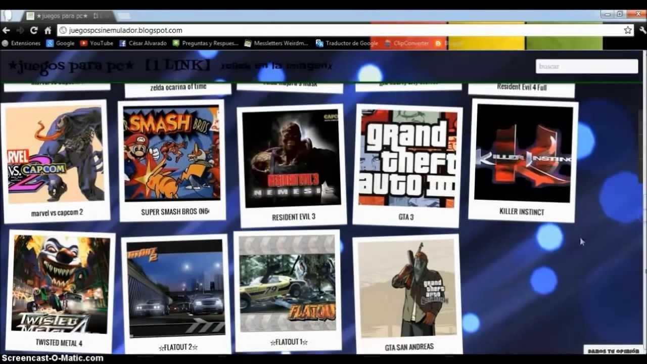 juegos para descargar pc utorrent