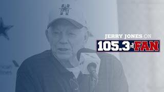 Jerry Jones on 105.3 The Fan   10/14/21   Dallas Cowboys 2021