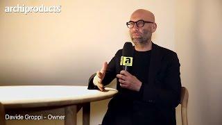 Euroluce 2017 | DAVIDE GROPPI ci racconta Infinito, Flash, Ascii, Tomoko, Morsetto