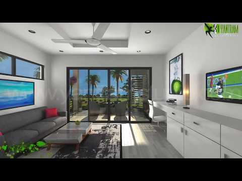 3D Interior Walkthrough Animation Design for Architectural Virtual Tour