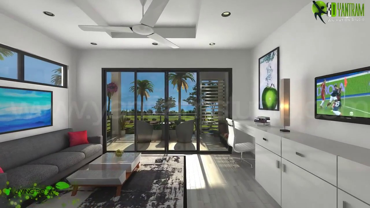 Interior Design Trends 2021 Architectural 3d Interior Walkthrough Animation Virtual Tour Youtube