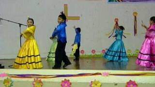 Philippine Folk Dance-Cariñosa- Voice of Truth FLC