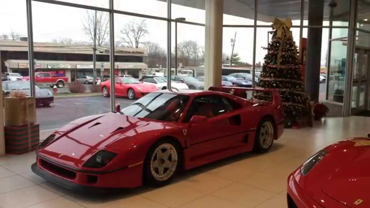 Ferrari F40 at Wide World of Cars - YouTube