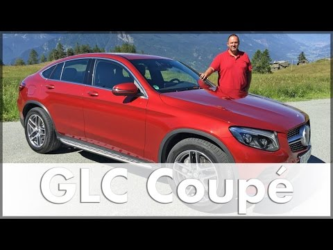 mercedes glc coupe 2016 350d test drive review suv auto english youtube. Black Bedroom Furniture Sets. Home Design Ideas