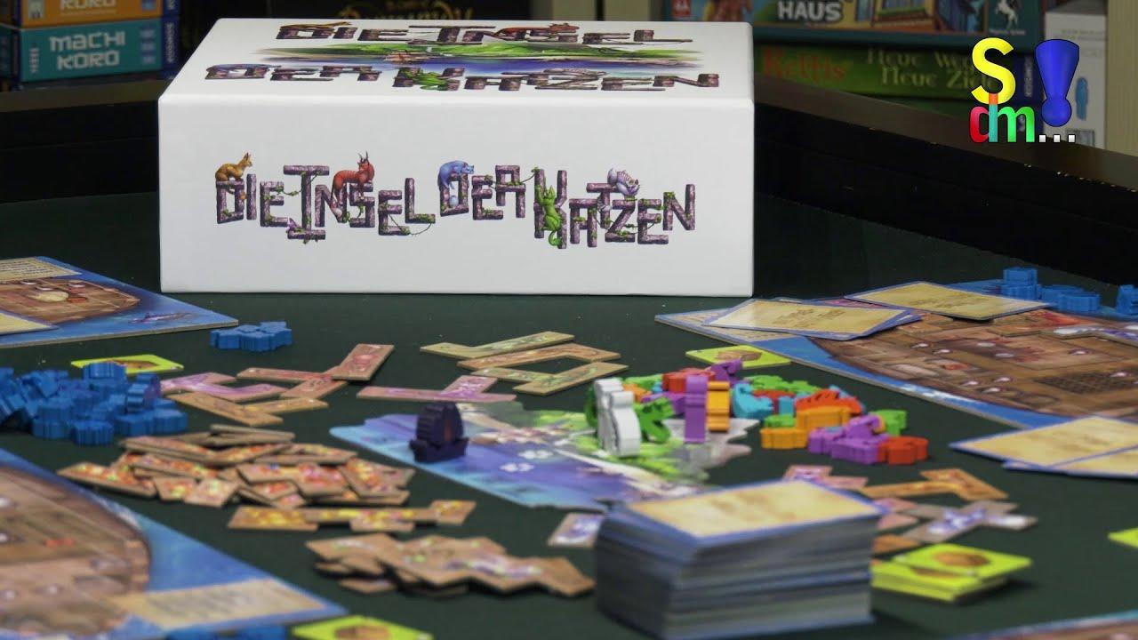 Spiel doch mal DIE INSEL DER KATZEN! - Brettspiel Rezension Meinung Test #357