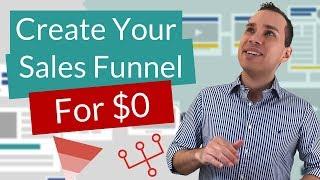 Wie Erstellen Sie Einen Sales Funnel Für Frei | Die $0 Start-Cost-Vertriebs-Trichter-Erstellung-Tutorial