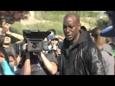 Tyrese Breaks Down In Tears At Paul Walker Crash Site! FULL VIDEO ®    YouTube 360p