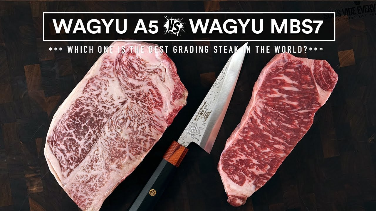 Japanese WAGYU A5 VS AUSTRALIAN Wagyu MBS 7 - World's Best Steaks Battle!