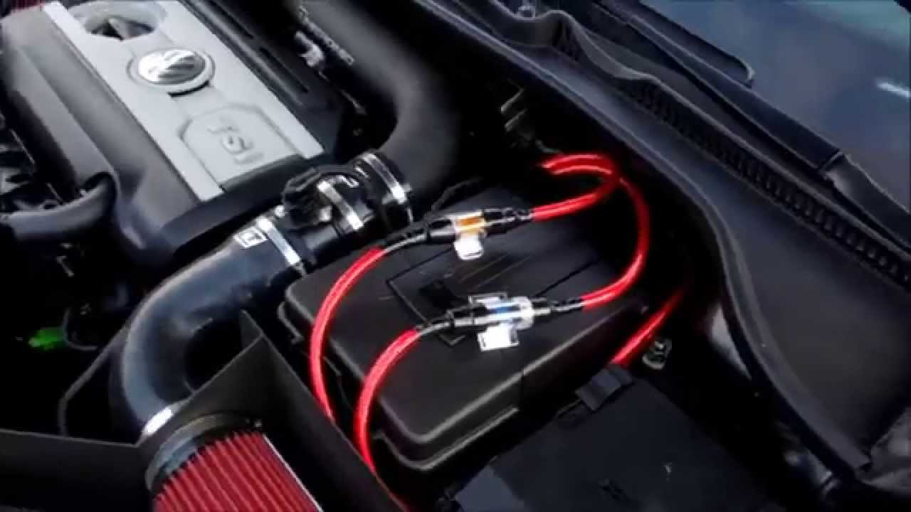 how to wire a subwoofer and amplifier gti mark 6 2011