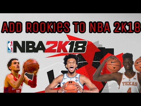 How To Get Updated NBA Rosters On NBA 2K18 WITH ROOKIES POST DRAFT! (PS3/PS4/XBOX 360/XBOX ONE)