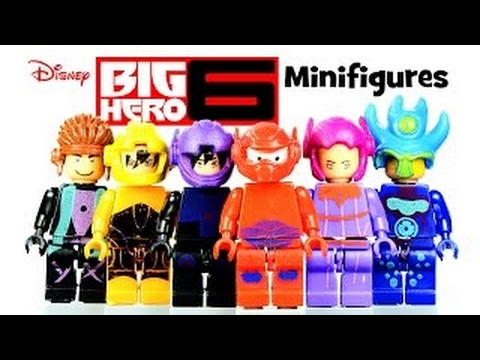 The WORST Big Hero 6 LEGO KnockOff Minifigures You'll EVER See ...