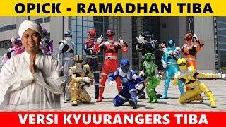 Ramadhan tiba || Versi nama actor + julukan & senjata Kyuurangers (Parody)