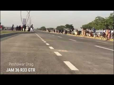 Peshawar Drag Race R33 GTR