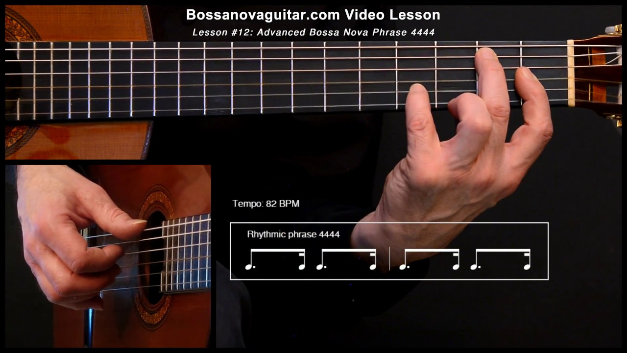 Desafinado (Off Key) - Bossa Nova Guitar Lesson #12: Advanced Phrase 4444