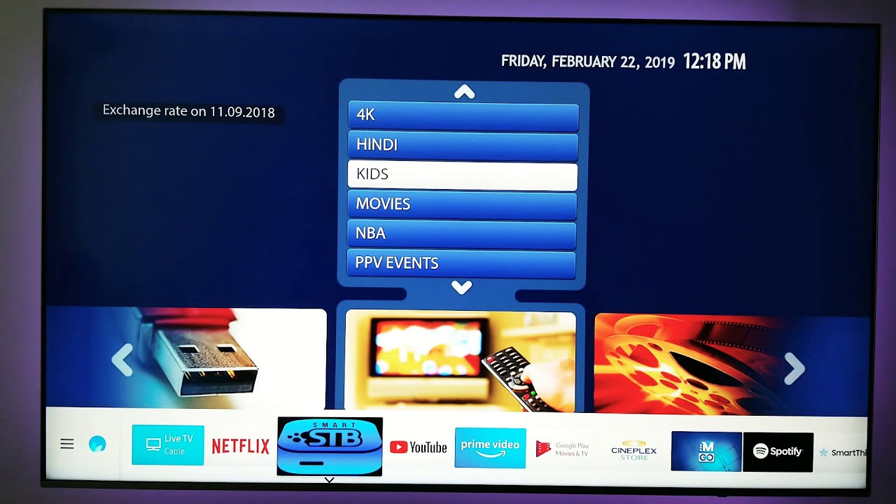 No Android box needed with Smart STB IPTV app