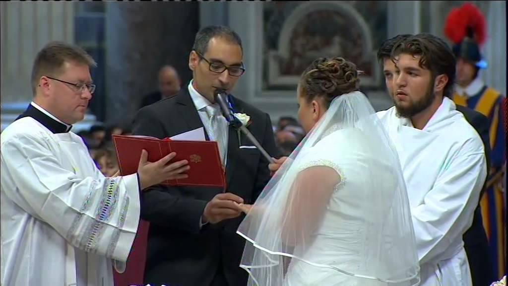 Matrimonio Catolico Misa : Misa con celebración del sacramento del matrimonio