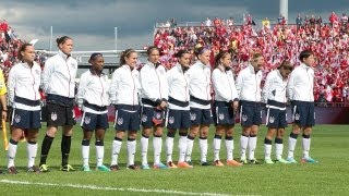 WNT vs. Canada: Highlights - June 2, 2013
