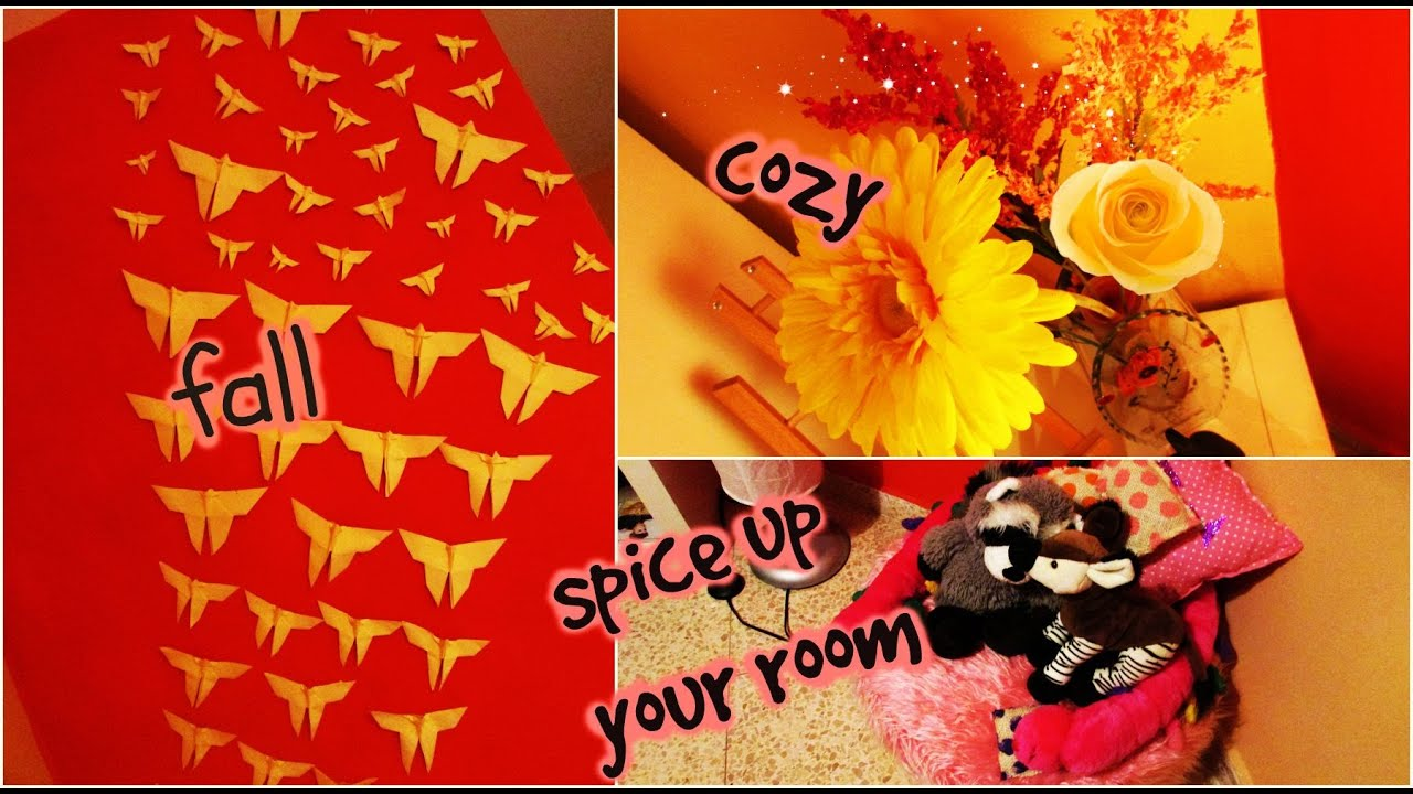 fall room makeover diy and ways to spice up your room youtube