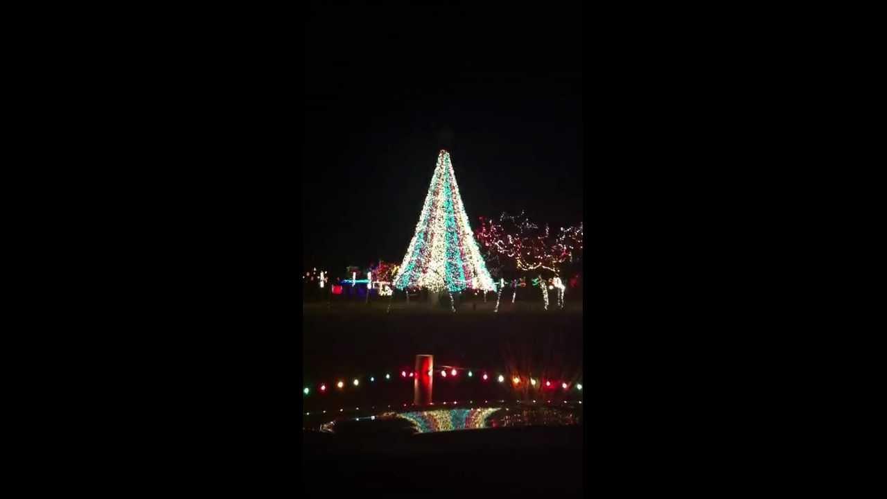 Christmas Lights Yukon, OK - YouTube